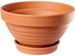 Горшок для растения ТЕРРА Пиала 7 х 12 см Коричневый (000001409)