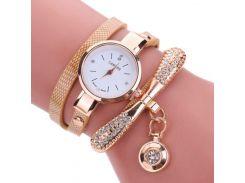Женские часы CL Золотистый (7228)
