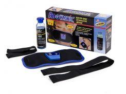 Массажер миостимулятор пояс для похудения AbGymnic Blue (ip1293)
