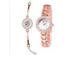 Женские часы CL Золотистый (001361)