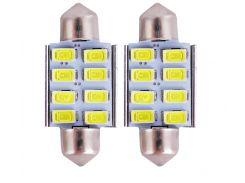 Led лампы Good Idea Festoon C5W 8SMD 5630 Canbus 36mm (5039ksi4126)