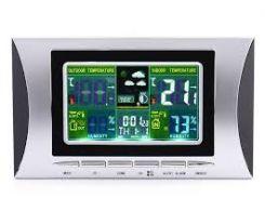 Метеостанция Good Idea H102G с цветным ЖК-дисплеем Серебристый (hub_JKAL28646)