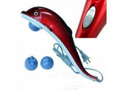 Инфракрасный ручной массажер Good Idea Дельфин большой Красный (hub_RFzI82105)