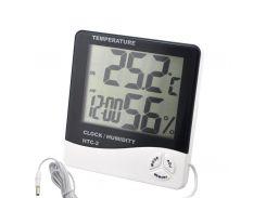 Метеостанция Good Idea HTC-1 Бело-черный (hub_HoqM22873)