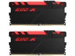 Оперативная память GEIL DDR4 16GB 2x8GB 3000 MHz EVO X RGB (GEXB416GB3000C16ADC)
