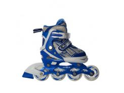 Детские роликовые коньки Profi A 12091-S-С 30-33 Синие (int_A 12091-S-С)