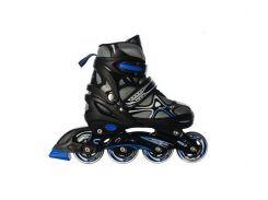 Детские роликовые коньки Profi A 12101-M-С 34-37 Синие (int_A 12101-M-С)