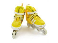 Роликовые коньки Best Roller 31-34 Желтые (2054-04)