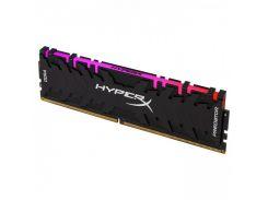 Оперативная память Kingston DDR4 8GB 3000 MHz HyperX Predator RGB (HX430C15PB3A/8)