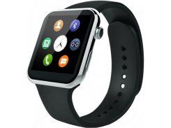 Смарт-часы UWatch Smart A9 Pulse Silver (50707)