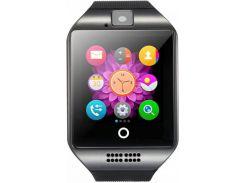 Смарт-часы UWatch Q18 Black (50712)