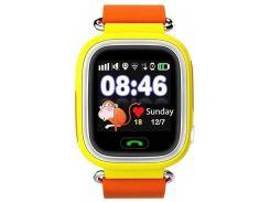 Смарт-часы UWatch Q90 Kid smart watch Orange (47454)