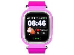 Смарт-часы UWatch Q90 Kid smart watch Pink (47455)