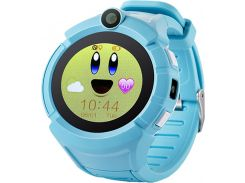 Смарт-часы UWatch Q610 Kid wifi gps smart watch Blue (52916)