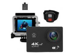 Экшн-камера B5R с пультом Black (2d-04)