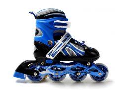 Роликовые коньки Power Champs 34-37 Blue (1316866802-M)