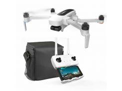 Квадрокоптер Hubsan h117s Zino Pro 4к камера 3-х осевой подвес GPS FPV Белый
