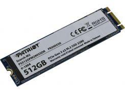 SSD накопитель PATRIOT M.2 2280 512GB PS512GPM280SSDR (F00188760)