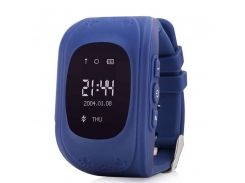 Детские часы с GPS Smart Baby Watch Q50 Blue (hub_ZUkz75936)