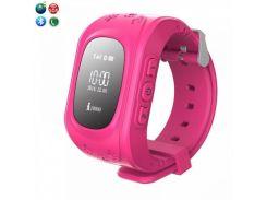 Детские смарт-часы с GPS трекером Smart Baby GW300 (Q50) Pink