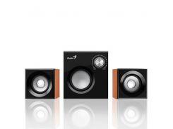 акустическая система genius sw-2.1 370 wood (67102)