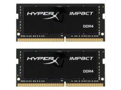 Оперативная память Kingston SO-DIMM 32 GB 2x16GB/2400 DDR4 HyperX Impact HX424S14IBK2/32 (4996133)