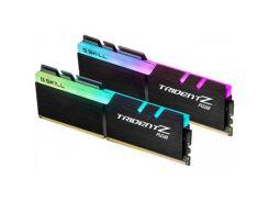 Оперативная память для компьютера DDR4 16GB (2x8GB) 3000 MHz TridentZ RGB Black G.Skill F4-3000C16D-16GTZR (5441281)