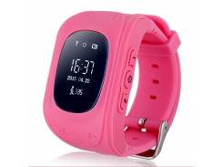 Детские часы с GPS Smart Baby Watch Q50 Pink (hub_DbkL64960)