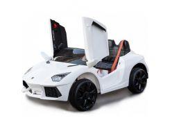 Детский электромобиль Lamborghini C 1188 Белый (OL00223)