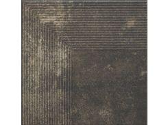 Ступень угловая Paradyz Scandiano 30x30 Brown (hub_vphC40061)