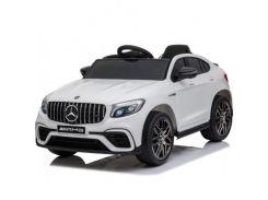 Детский электромобиль QS568 Mercedes Benz GLC63S Белый (OL00244)