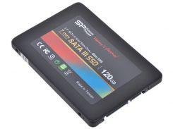 Накопитель SSD Silicon Power Slim S55 120GB 2.5 SATAIII TLC SP120GBSS3S55S25 (U0041071)