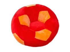 Детское кресло Золушка мяч 78см Красно-оранжевый (297-5)