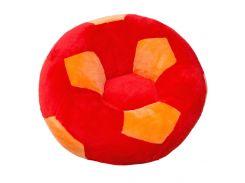 Детское кресло Золушка мяч 60см Красно-оранжевый (415-5)