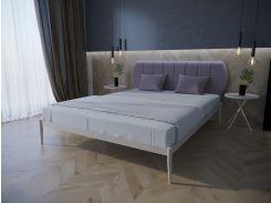 Кровать MELBI Бьянка 01 Двуспальная 120*190 см Бежевый (КМ-009-02-1беж)