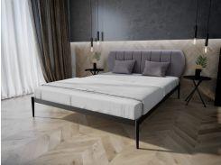 Кровать MELBI Бьянка 01 Двуспальная 120*190 см Черный (КМ-009-02-1чер)