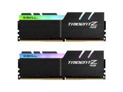 Оперативная память для компьютера DDR4 32GB (2x16GB) 3200 MHz TridentZ RGB Black G.Skill F4-3200C16D-32GTZR (s-233275)