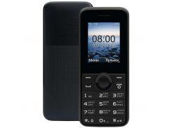 мобильный телефон philips xenium e106 xenium black (5249975)