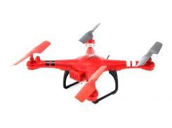 Квадрокоптер WL Toys Q222K Spaceship с барометром и камерой Wi-Fi Красный (DB-0072)