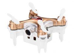 Квадрокоптер нано р/у Cheerson CX-10WD-TX с камерой Wi-Fi Бежевый (DB-0043)