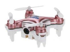 Квадрокоптер с камерой Wi-Fi Cheerson CX-10W нано Розовый (DB-0051)