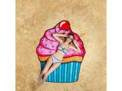 Пляжный коврик Кекс Разноцветный (er123220)