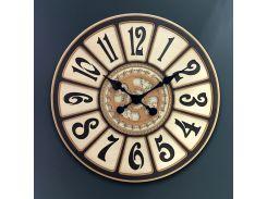 Настенные часы из ДВП DK Store Premium UGB053 600х600 мм (hub_Asfh11593)