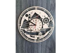 Концептуальные часы на стену 7Arts В открытом море (CL-0144)