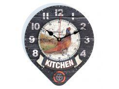 Настенные часы Декор Карпаты Loft UGT102 Серый (cjIz86670)