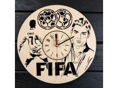 Часы настенные из дерева 7Arts FIFA (CL-0359)