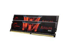 оперативная память для компьютера ddr4 16gb (2x8gb) 3000 mhz aegis g.skill f4-3000c16d-16gisb (u0210419)
