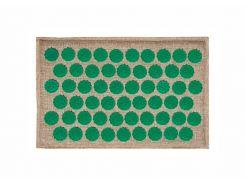 Массажный коврик Onhillsport Lounge Mini аппликатор Кузнецова 32 х 21 см Зеленый (LS-1002-2)