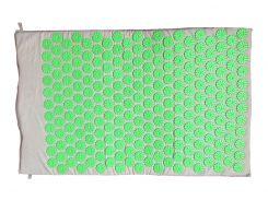 Массажный коврик Rao аппликатор Кузнецова 64 х 40 см Серо-салатовый (28862)