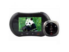 GSM видеоглазок дверной - видеодомофон iHome2 Черный (100110)